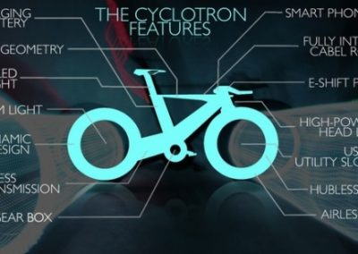 Cyclotron bike features list