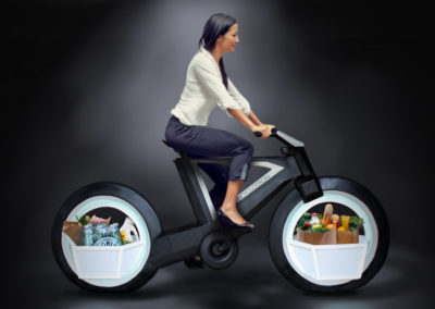 Cyclotron grocery getter